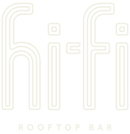 Hi-Fi Rooftop Bar logo