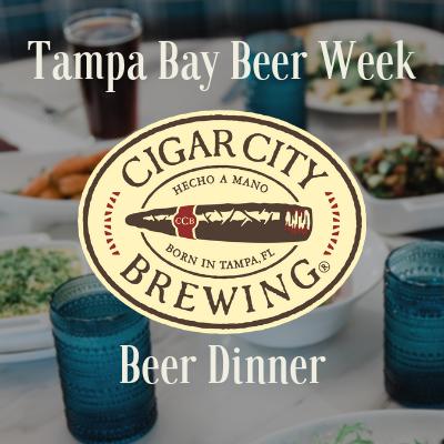 Cigar City Beer Dinner