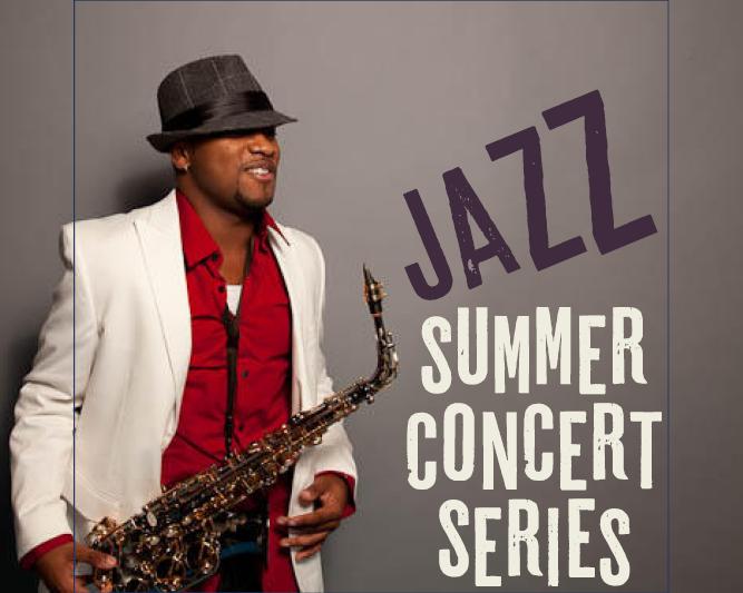 Jazz Summer Concert Series:  Marcus Anderson 1