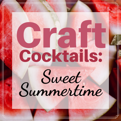 Learn how to make Craft Cocktails!