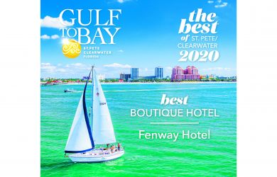 Fenway Hotel Voted Best Boutique Hotel in 2020 Best of St. Pete/Clearwater